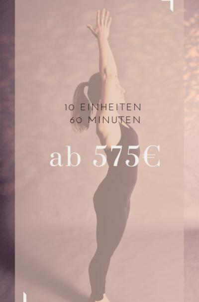 Yoga, private yoga, block, 10 Einheiten